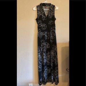 Vince Camuto maxi dress, small petite, EUC